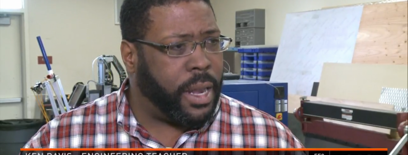 Image of SES Featured During News 10 Broadcast On Diversity